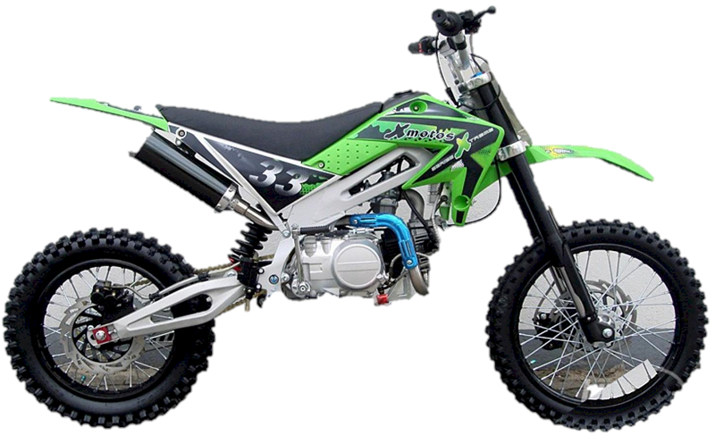 X-Motos 125cc Dirt Bike