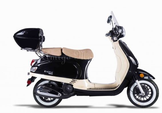 2020 Avenza 50cc Moped Scooter, ABS Brakes, Alarm Remote Start (10)
