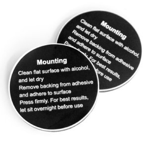 Contour Flat Surface Mount Adhesives (2Pk)