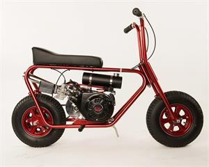 American Flyer 215 Minibike, Patriot Red Superchrome
