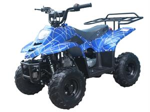 Dyno 110 Kids ATV, Spider Blue