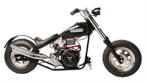 Little BadAss Mini Chopper, 11hp, Torque Converter