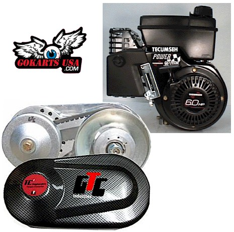 Gtc Go Kart Torque Converter For Tecumseh Engine