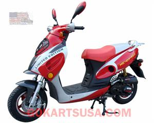 Roketa MC-07 Bahama 50 Moped Scooter