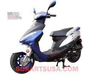 Roketa MC-08 Maui 50GL Moped Scooter