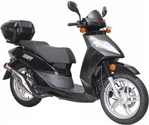 Pacifica 150 Moped Scooter