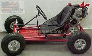 Fully Assembled Gokart Kit