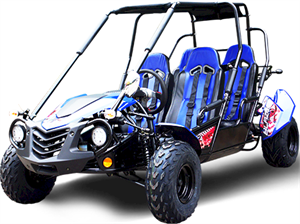 TrailMaster Blazer4 200X 4-Seater Buggy Go Kart, Extended Cab