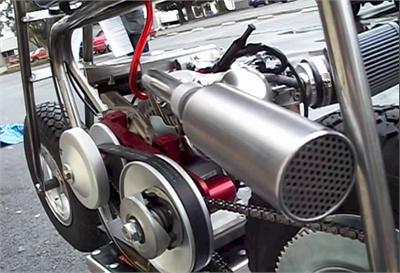 TX249 Engine Mounting Platform, Billet Honda GX160 / GX200