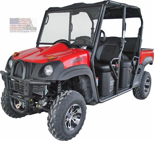 roketa uv 03a xuv 500 4 seat 4x4 utility vehicle. Black Bedroom Furniture Sets. Home Design Ideas