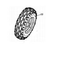 Front Wheel Assy R