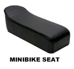 Minibike Seat, for Taco 22