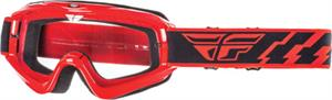 FOCUS GOGGLE RED W/CLEAR LENS