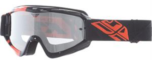 ZONE GOGGLE Black/Orange w/ Clear/Flash Chrome Lens