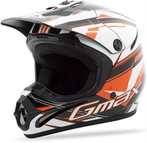 GM46.2X TRAXXION HELMET Flat Black/Red/White
