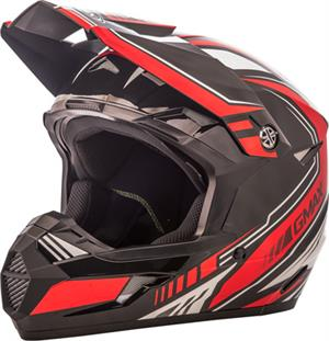 GMAX MX46 UNCLE HELMET Black/Red