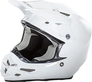 RACING F2 CARBON SOLID HELMET White