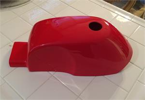 Mini Bike Gas Tank Cover, Bonanza Style