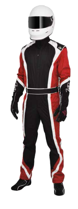 K1 Race Gear 10-APE-R-S Apex Level 2 Red Small Kart Racing Suit
