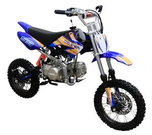 Coolster 125S Pit Bike, 4-Speed, Semi Automatic