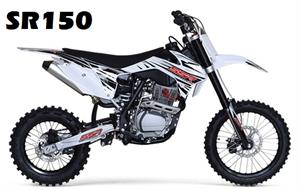 SSR 150 Pit Bike, 4-Speed Manual Clutch