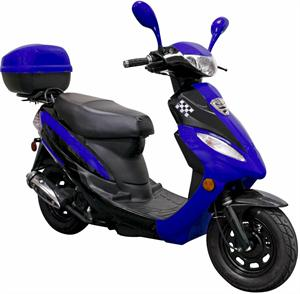 Europa Deluxe 50cc Moped Scooter
