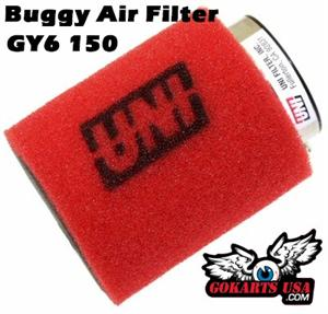 Uni Clamp-On Dual Layer  inPod in. Filter, GY6 150