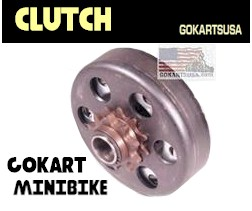 centrifugal clutch for gokart or minibike