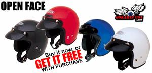 GM2 Open Face Helmet