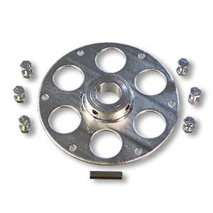 Hub for 1inch Live Axle to Mount Sprocket or Brake
