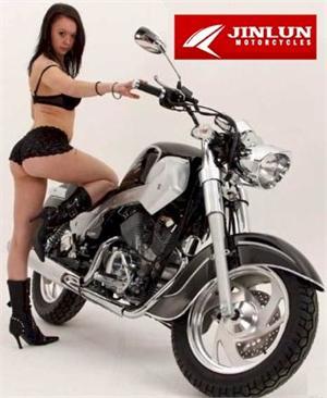 Jinlun 250 V Twin Cruiser Motorcycle Lifan V Twin