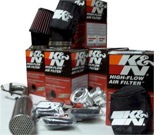 K&N High Performance Stage 1 Kit, Race Kart Honda GX160 / GX200 and clones