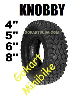 Knobby Tires, Gokart and Minibike