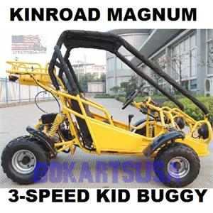 Kinroad Magnum 125 Go Kart, 3 Speed with Reverse