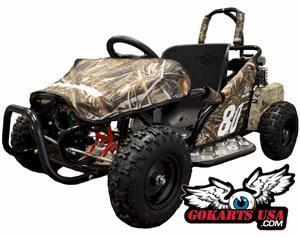 Monster 80RT Youth Go Kart
