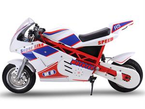 48v 1000w Electric Superbike White