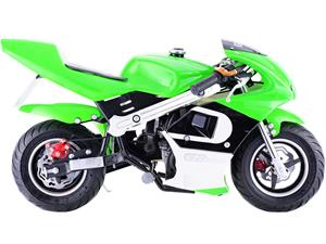 GBMoto Gas Pocket Bike 40cc Green