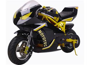 Gas Pocket Bike GT 49cc 2-stroke Yellow