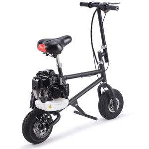 MotoTec 49cc Gas Mini Bike Black