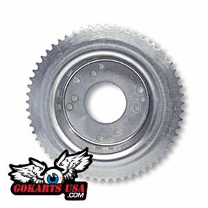 Minibike Sprocket #35 60T and Brake Drum Combo