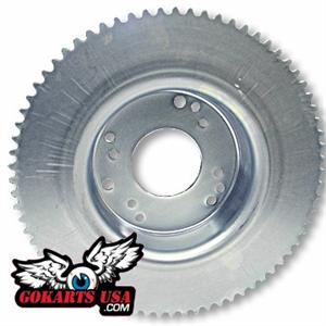 Minibike Sprocket #35 72T and Brake Drum Combo