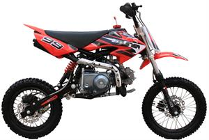 Coolster 125S Dirt Bike, 4-Speed, Semi-Automatic