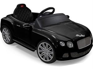 Kids Bentley Electric Go Kart, with Parental Remote Control Black