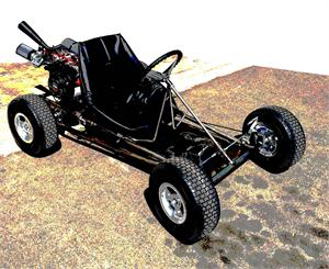"Road Rocket Gokart Kit, 6"" Aluminum Wheels"