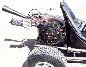 Titan TX200 Crate Engine, Gokart