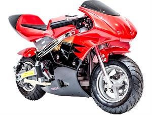 Gas Pocket Bike 33cc 2-Stroke Red