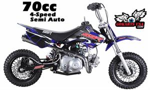 SSR 70R Pit Bike (Mini Dirt Bike)