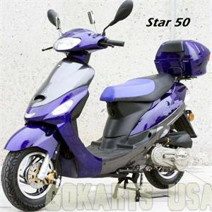 Star 50 Moped Scooter