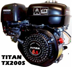 Stock Titan TX200S 6.5hp Engine