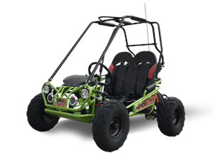 TrailMaster 163 MINI XRX+ Kids Go Kart, 5hp Electric Start